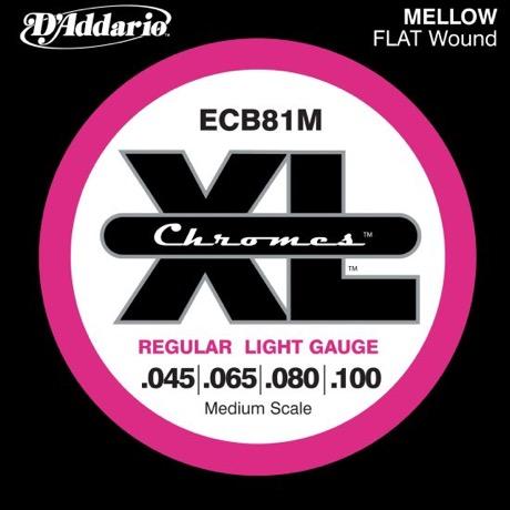 Daddario ECB81M Chromes Bas