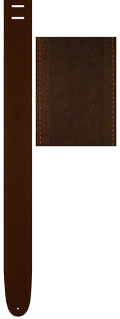 Perri's Leather Axelband BROWN SUEDE