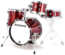 Ludwig Breakbeats by Questlove Wine Red Sparkle - Shellpack