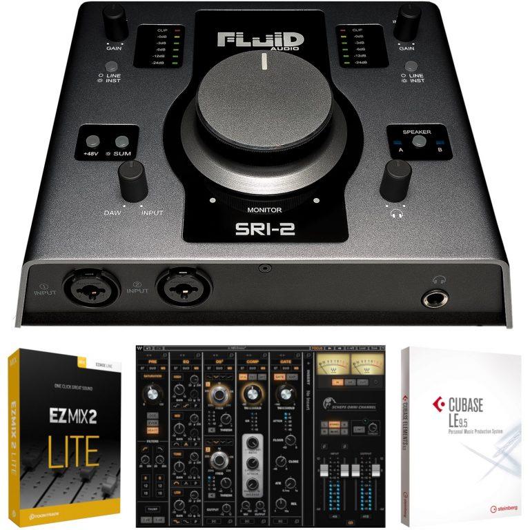 Fluid Audio SRI-2 Omni ch bundle