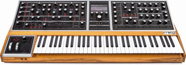 Moog One 8 rösters analogsynt