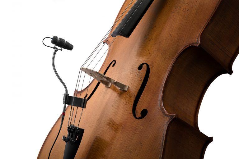 DPA dvote CORE 4099 Mic Loud SPL with Clip for Cello