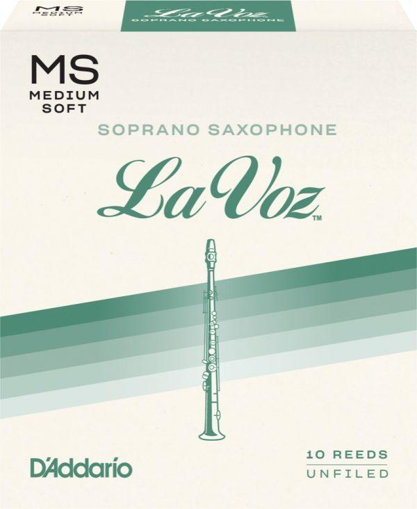 Rico La Voz Sopr-sax 10-pack MS