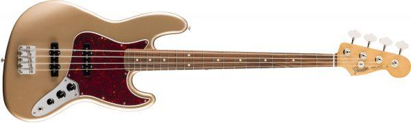 Fender Vintera 60s Jazz Bass Pau Ferro Fingerboard Firemist Gold