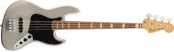 Fender Vintera 70s Jazz Bass Pau Ferro Fingerboard Inca Silver