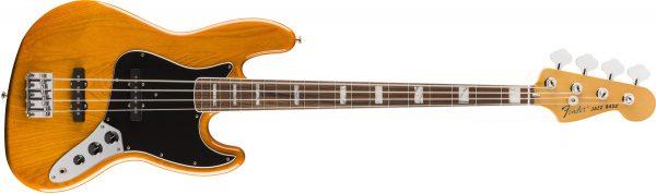Fender Vintera 70s Jazz Bass Pau Ferro Fingerboard Aged Natural
