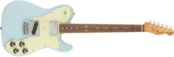 Fender Vintera 70s Telecaster Custom Pau Ferro Fingerboard Sonic Blue