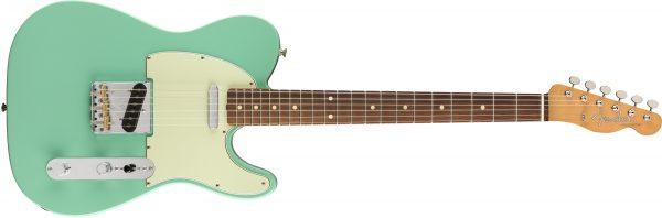Fender Vintera 60s Telecaster Modified Pau Ferro Fingerboard Sea Foam Green