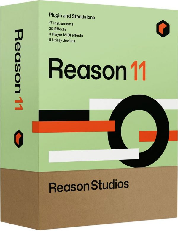 Reason Studios Upgrade to Reason 11 for Intro/Ltd/Essentials/Adapted/Lite owners Down