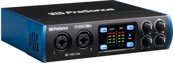 Presonus Studio 26 C - Audio Interface USB-C