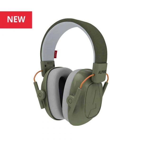 Alpine Hearing Protection Alpine Muffy - Green